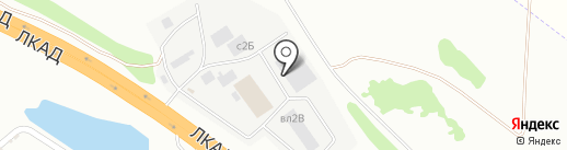 Кайрос на карте Липецка