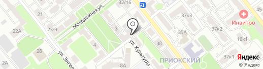 Торгово-монтажная компания на карте Рязани