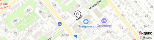 Магазин аксессуаров для волос и швейной фурнитуры на карте Рязани
