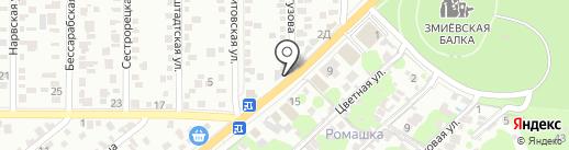 МегаШина на карте Ростова-на-Дону