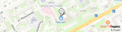Золотая гусыня на карте Ростова-на-Дону