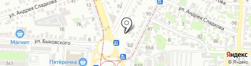 Центр ремонта бензоинструмента на карте Ростова-на-Дону