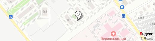 Ломоносов на карте Рязани
