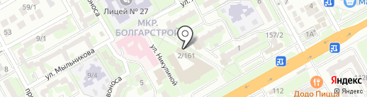 Почта Банк, ПАО на карте Ростова-на-Дону
