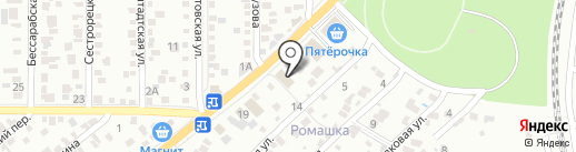 Корпорация Шарика на карте Ростова-на-Дону