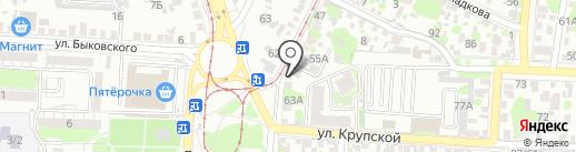 ЮгЭлектроСервис на карте Ростова-на-Дону