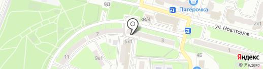 Амур на карте Рязани