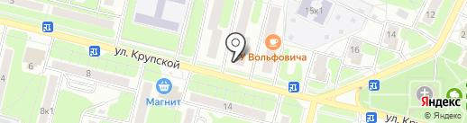 Ольга на карте Рязани