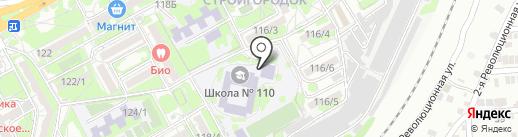 Вдохновение на карте Ростова-на-Дону