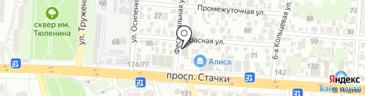 Авто-SPA на карте Ростова-на-Дону