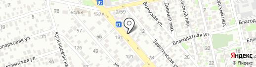 СтройКоммуникации на карте Ростова-на-Дону