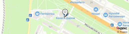 Kolobox на карте Рязани