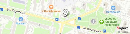 Магазин канцелярских товаров на карте Рязани