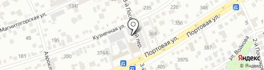 Титан на карте Ростова-на-Дону