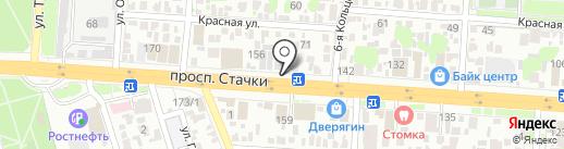 ВМЕСТЕ на карте Ростова-на-Дону