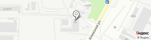 Интермашсервис на карте Липецка