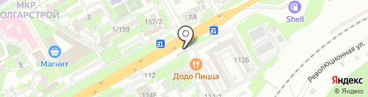 РемОбувь на карте Ростова-на-Дону