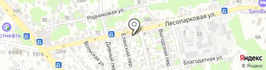 Компания по продаже продуктов пчеловодства на карте Ростова-на-Дону