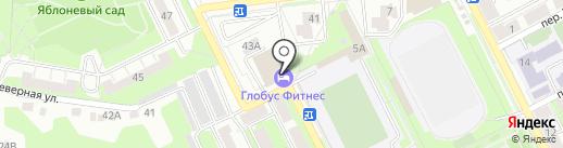 ГЛОБУС ФИТНЕС на карте Липецка