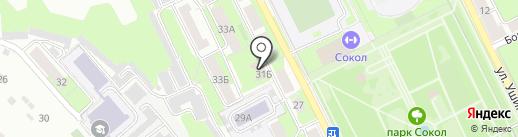 Аварийно-диспетчерская служба городского хозяйства г. Липецка на карте Липецка