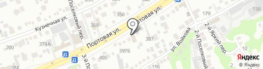Мастерская по изготовлению мебели на карте Ростова-на-Дону
