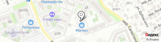 Семейный на карте Ростова-на-Дону