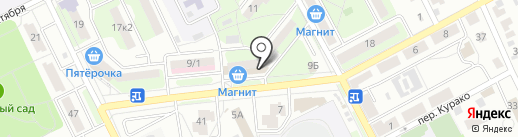 Почтовое отделение №7 на карте Липецка