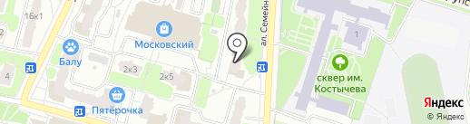 ТЭКС-9, ТСЖ на карте Рязани