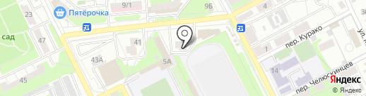 Стиль на карте Липецка