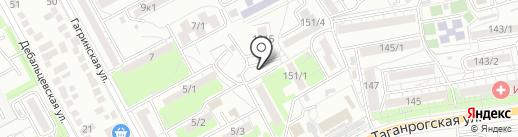 Магазин овощей и фруктов на карте Ростова-на-Дону