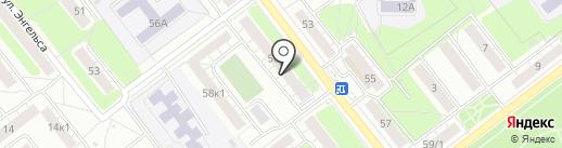 Станочник, ЖСК на карте Рязани