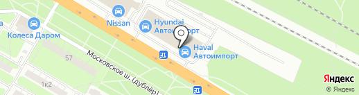 Ле-ман на карте Рязани