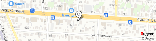 Без боли на карте Ростова-на-Дону