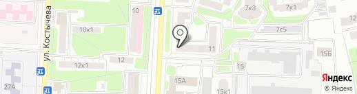 Компания по продаже окон и комплектующих для окон на карте Рязани