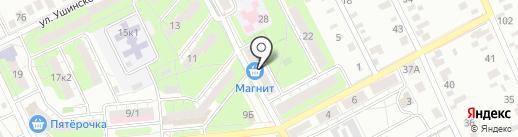 ЮНИКОМ на карте Липецка