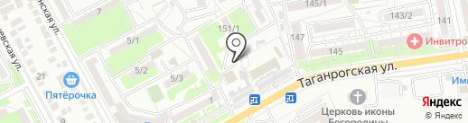 ПЛАТФОРМА №1 на карте Ростова-на-Дону