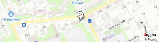 АРКАДИЯ на карте Липецка