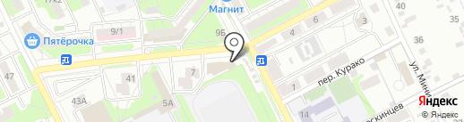 Модный базар на карте Липецка