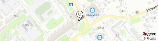 Канцтоварищ на карте Рязани