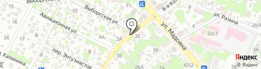 Oldi Don на карте Ростова-на-Дону
