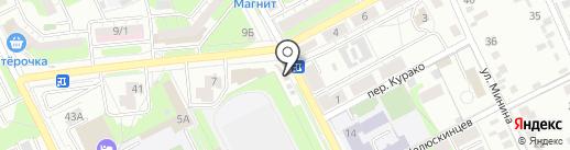 Магазин хозтоваров и игрушек на карте Липецка