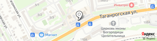 МТС на карте Ростова-на-Дону
