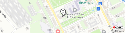 Фарммед на карте Липецка