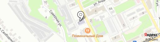 Детская школа искусств №4 на карте Липецка