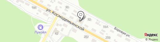 СОКОЛ на карте Липецка
