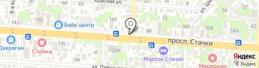 Mr.Rak на карте Ростова-на-Дону
