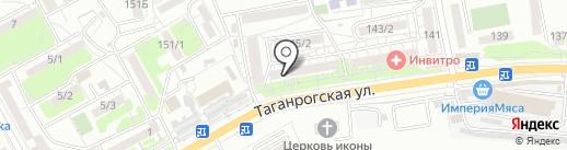 Мясной градус на карте Ростова-на-Дону