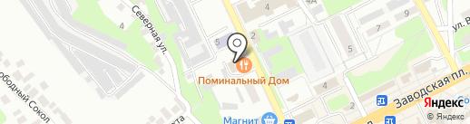 Клен на карте Липецка