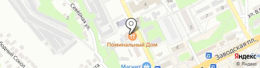 Поминальный дом на карте Липецка