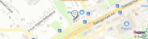 Автоцентр на карте Липецка